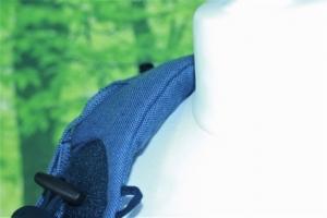 Dick und weich gepolsterte Schultergurte sorgen für einen bequemen Sitz der Bondolino Klassik