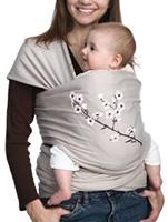 Elastisches Babytragetuch