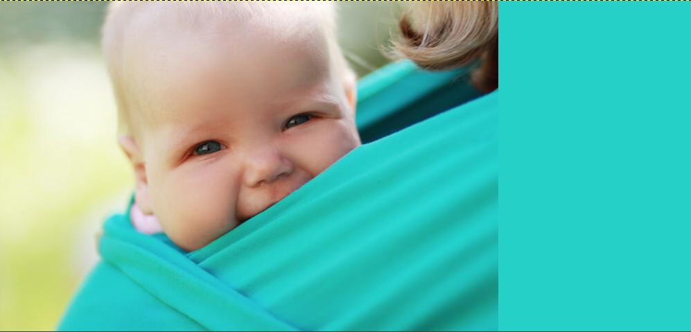 Babytragetuch   © panthermedia.net /lenanet