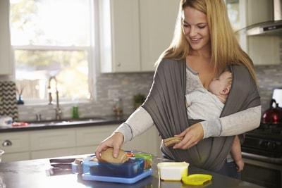 Babytragetuch Test