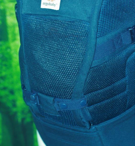 ...deren luftdurchlässiger Oberstoff eine bessere Luftzirkulation im Sitzsack ermöglicht
