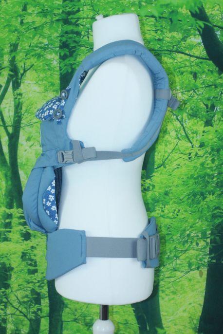 Der Verlauf des Hüftgurtes der Omni 360 im Detail. Nicht durchgehend, aber bequem